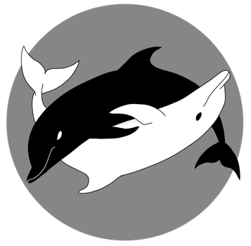 Yin Yang Dolphins by Potoo-Foolery