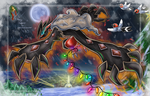 Bringing Christmas :YVELTAL: by shadowhatesomochao