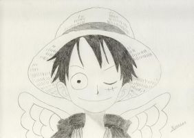 Luffy - Skiepiea style by minimaxpower
