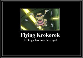 Flying Krokorok Meme by 42Dannybob