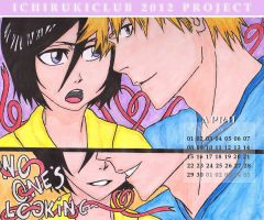 No one's looking - IchiRuki Calendar by jaydz-05