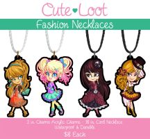 Fashion Necklaces by cute-loot