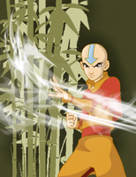 Airbending Avatar! by LivingAliveCreator