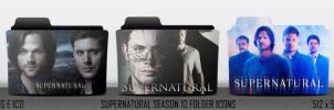 Supenatural Season 10 Folder Icons by MaiconDesp