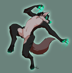 YCH Commission - Backflip by Wolf-Shadow77