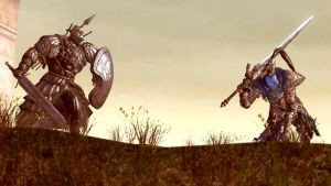 A Dark Souls fight that will never happen by dumbass333