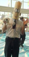 The engineer Dilbert at Long Beach Comic Con 2013 by trivto