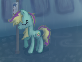 A rainy day. by Reporter-Derpy