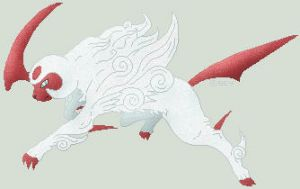 Okami Shiny Absol by Sey-Sey