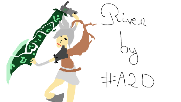 Riven League of Legends by Addict2Draw