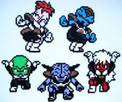 Ginyu Force by PlasticPixel