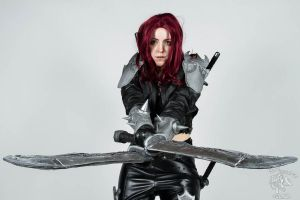 Katarina Cosplay - Crossed blades by Galuren