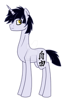 Hiroto Shun (MLP OC) by LillyCheese