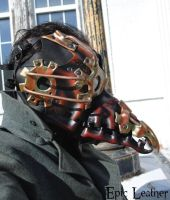 Steampunk Plague Doctor Mask - Profile by Epic-Leather