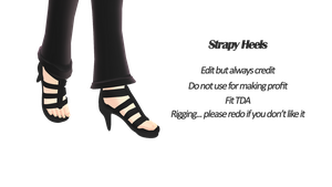 Strapy heels DL~~~ by ZerevinaNatalia