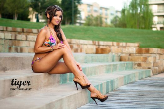 Athena on the Dock by tigerphotography