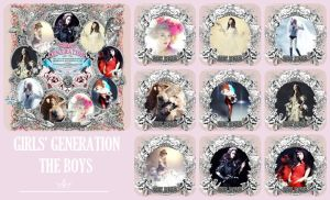 THE BOYS Cards Cover II - SNSD by HigSousa