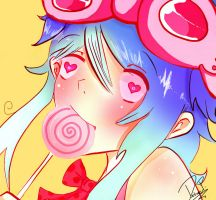 Vocaloid: Candy Candy by Gorillaz-HTF-rox