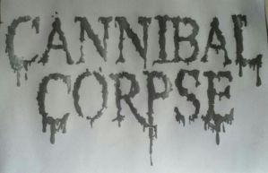 Cannibal Corpse by DeathByScreams