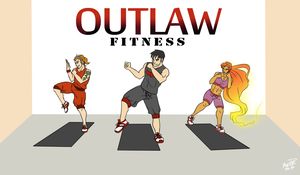 Outlaw Fitness by scribbledit