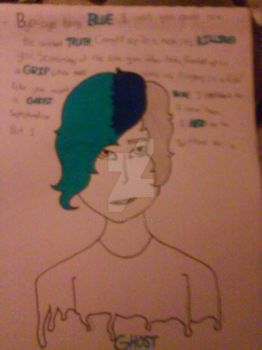 baby blue ( traditional ) by homestucktrash176