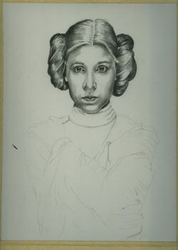Leia Wip 2 by jeanfverreault