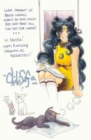 Happy Birthday Mahsa by ChibiSofa