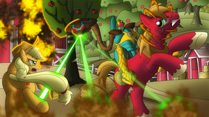 A Fistful of Apples by Atomic-Chinchilla