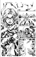 Miss Marvel 28 Pg 20 Inks by Mariah-Benes