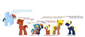RaindropLily and my pony OC couples/foals by JenniferGerbil123