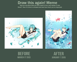 Draw this again! Meme by Neko-Slay