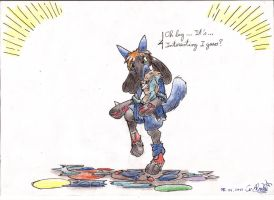 Lucario Tf By Suprahunter by V8Arwing67