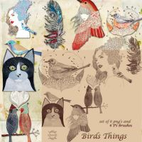 Birds things by libidules