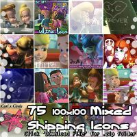 Jimmy Neutron - 75 Shipping Icons (.zip pack) by Absurd--Reality