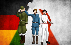 Hetalia - And the World Will Turn on That Axis by PhantomPhan14