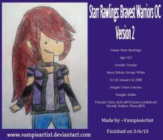 Starr Rawlings: Bravest Warriors OC Version 2 by VampieArtist