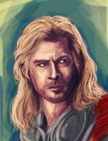Thor by pandatails