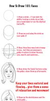 How To Draw 101: The Face by WisdomsPearl