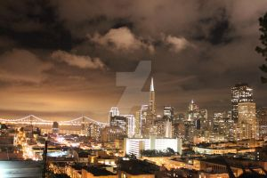 San Francisco, Above It All by cuzinmank