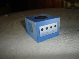 Nintendo Game Cube Papercraft by ryo007