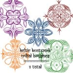 keltic knotwork tribals by rL-Brushes