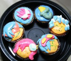 Cupcakes with Burning Passion by ranmaownsme