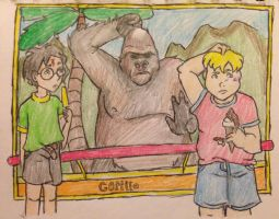 The Blond Gorilla by DidxSomeonexSayxMad