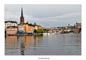 Stockholm cityscape 4 by Geert1845