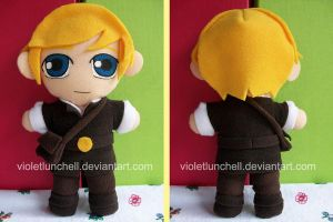 Narnia Peter Pevensie Plushie by VioletLunchell