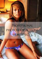 Pro Film Effects PS Action Set by Grasycho