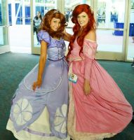 Two Princesses Together by kingdomheartsventus7