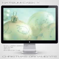 Christmas Ornaments by Natsum-i