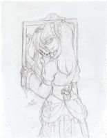 TRADITIONAL SKETCH: Appearances Can Be Deceiving.. by InvaderIka