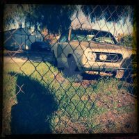 Rusted Car 2 by LeoCronis